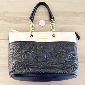 Betsey Johnson Quilted Tote Bag